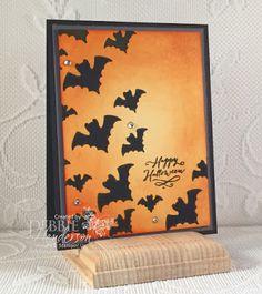 Debbie's Designs: CCMC Saturday Blog Hop & 10 Days of Halloween Projects Day #4 using Stampin' Up! Halloween Scares, Jar Of Haunts. Debbie Henderson