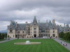 Biltmore Estate in Asheville, NC...largest home in USA