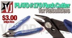 Vapor Joes - Daily Vaping Deals: A MUST: FLUSH CUTTERS FOR REBUILDERS - $3.00