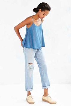 BDG Chambray Cami - Urban Outfitters
