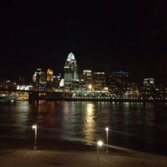 Cincinnati skyline - the best views are from Kentucky