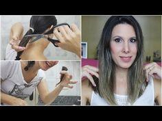 Como cortar o cabelo sozinha ( Corte Long Bob) - YouTube