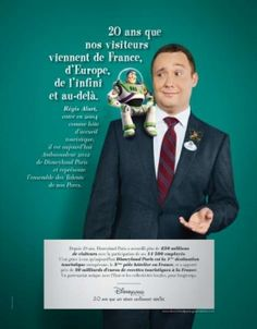 Campagne corporate «20 ans» de Disneyland Paris - Support Print