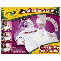 Crayola Pink Illumination Station - Toys R Us Exclusive