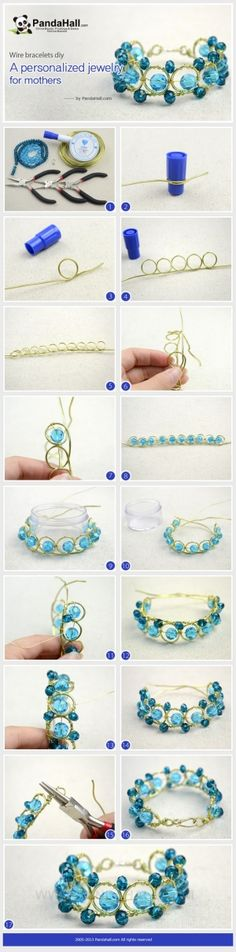 Make a great craft project to help remind you of the impressive and engraved Mothers Day. The wire bracelets diy items may be one most versatile and personalized jewelry for mothers. by wanting