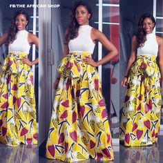 NEW Sunflower  Maxi Skirt