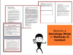 This lesson will teach students to become Sociology Masters at the Methods in Context question on Paper 1 Education. The lesson includes: an AQA . Online Essay Writer, Buy Essay Online, Best College Essays, Write My Paper, Essay Plan, Dissertation Writing Services, Custom Essay Writing Service, Third Grade Science, Important Life Lessons