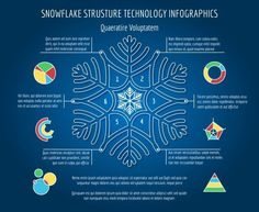 Christmas snowflakes infographics. Graphic Design Infographics. $4.00