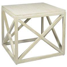 Various finish options -- Jeffrey Alan Marks Collection Gunn Square Table @Zinc_Door