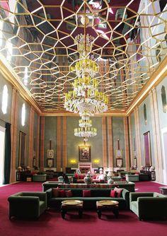 hotel sahara palace marrakech, design by orientalist stuart church