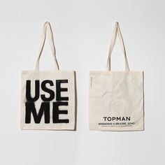 tote...simple but I like the 2 sided design you can fit maybe the web address on the back?