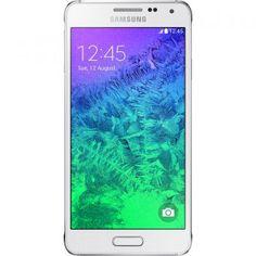 1900-1600 Telefon mobil Samsung G850 Galaxy Alpha, 32GB, White