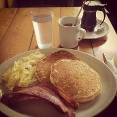 Full American Breakfast (waffles works too!)