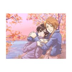 Hikaru and Haruhi - Ouran High School Host Club - Fotolog ❤ liked on Polyvore featuring anime and ouran