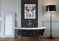 Obraz na płótnie + RETRO+ 80X60 cm w LUdesign na DaWanda.com