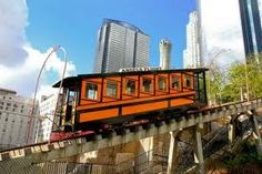 Angels Flight Los Angeles rode this with my Grandma many times.
