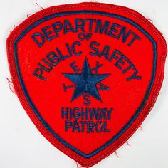 Texas Department Of Public Safety DPS Highway Patrol Trooper Police Patch Law Enforcement Badges, Texas Department, Patches For Sale, Special Ops, Police Patches, Sheriff, Public, Safety, Ebay