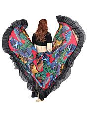 Dancewear Chiffon Belly Dance Gipsy Rock für ... – EUR € 37.12