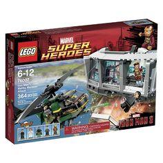 "LEGO Super Heroes - Iron Man: Malibu Mansion Attack (76007) - Lego - Toys""R""Us"
