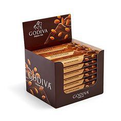 Godiva Chocolatier Belgium Milk Chocolate with Almonds