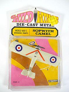 1968 Wild Wings World War I Sopwith Camel Airplane, Mip