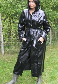 PVC+Raincoat+with+hood