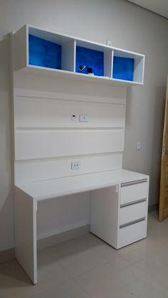 Painel tv + mesinha para escritório Jundiaí móveis planejados Cáceres MT