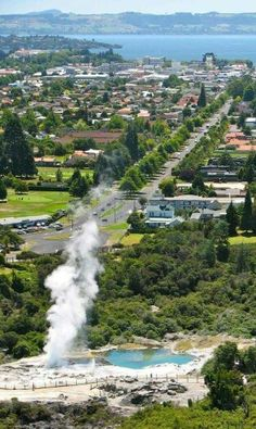Rotorua - beautiful city to live in or holiday.