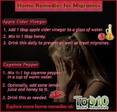 Migraine Remedies You Can Make At Home | The WHOot