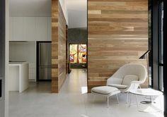 Womb Chair by Eero Saarinen, AJ floor lamp by Arne Jacobsen