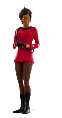 Hallmark Previews 2015 Star Trek Keepsake Ornaments at Comic-Con Lieutenant Nyota Uhura -- In her red uniform from Star Trek: The Original Series, the communications officer is planned as the sixth ornament in the Star Trek Legends series.