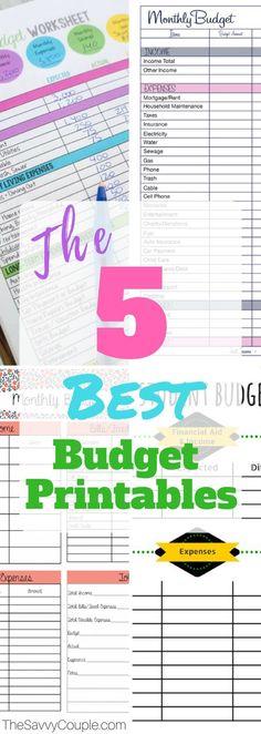 Monthly Bill Tracker Bill Planner Bill Tracker Finance Printables - bi weekly monthly budget spreadsheet