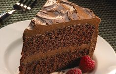 Easy Chocolate Layer Cake Recipe