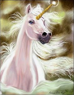 Blue eyed Unicorn
