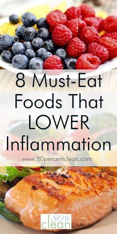 11 best foods to eat on the anti-inflammatory diet! Reduce inflammation and improve your health by eating clean and including more anti-inflammatory foods into your meal plan. Anti Inflammatory Foods List, Anti Inflammatory Smoothie, Diet Recipes, Healthy Recipes, Crohns Recipes, Bread Recipes, Vegetarian Recipes, Autoimmune Diet, Aip Diet