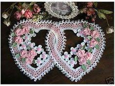 Crochet  heart doily  Free  simplicity patterns  36