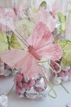 Butterfly Wedding - How to Plan a Wedding with a Butterfly Theme: Wedding Favors.  | Read more: http://simpleweddingstuff.blogspot.com/2015/02/butterfly-wedding-how-to-plan-wedding.html