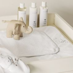 Buy Childrens Bedroom > Nursery > Elephant Changing Mat from The White Company