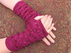 Knit Along workshop - Beaded Fingerless Gloves