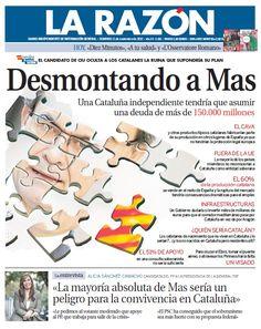 La Razón, 11 de noviembre de 2012
