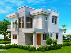 Sanjorjo model is a 3 bedroom one storey house design with roof deck – Amazing Architecture Magazine One Storey House, 2 Storey House Design, Bungalow House Design, Two Story House Design, Small House Design, Modern House Design, Modern Bungalow House, Modern House Plans, House Construction Plan