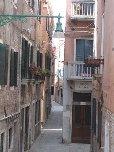 Hidden streets of Venice, Italy