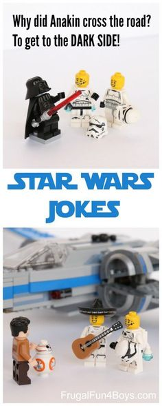 Wars Jokes Hilarious Star Wars Jokes for Kids - Clean and Family Friendly!Hilarious Star Wars Jokes for Kids - Clean and Family Friendly! Star Wars Witze, Star Wars Jokes, Star Wars Party, Star Wars Memes Clean, Funny Jokes For Kids, Funny Jokes To Tell, Silly Jokes, Funny Memes, Hilarious Jokes