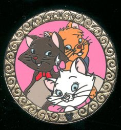 2010 Hidden Mickey The Aristocats Berlioz Toulouse Marie Disney Pin 75101 | eBay