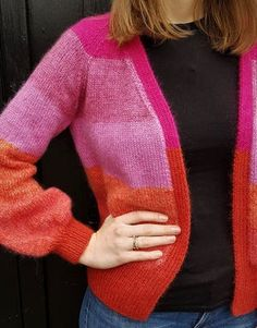 Knitting, Sweaters, Tutti Frutti, Fashion, Water Colors, Blouse, Wool, Moda, Tricot