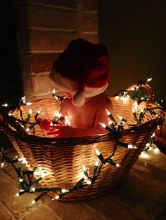 Christmas baby picture ideas |