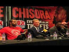 HAYE VS CHISORA AFTER FIGHT - Boxen.com.de - Boxen Live Stream - Das Sport Video Portal für Amateurboxer von Amateurboxer - Sport Live