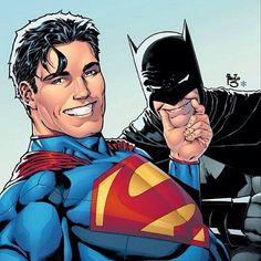 Superman v/s Batman,friends,justice team