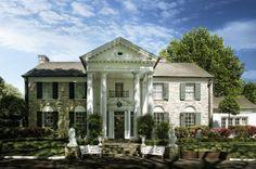 Graceland, Memphis, TN I want to go visit Elvis' house in Memphis
