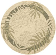 Refresh the look of any outdoor space with the resort-getaway style and all-weather durability of Courtyard indoor-outdoor rugs by Safavieh. Fashionable and made to last, Courtyard area rugs are resistant to weather, wear, stains, and fading from the sun. Round Area Rugs, Blue Area Rugs, Patio Rugs, Lodge Style, Indoor Outdoor Area Rugs, Rug Size, Size 2, Beige, Cream